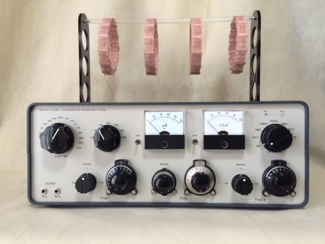 Homebrew Crystal Radios with Basket Weave Coils